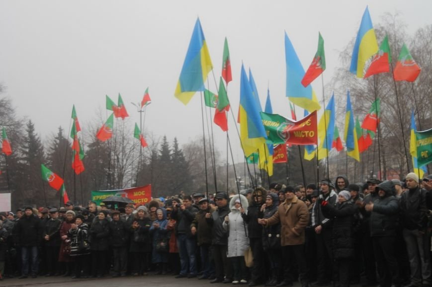 В Кривом Роге участники митинга за порядок потребовали закончить «беспредел» в городе (ФОТО), фото-3