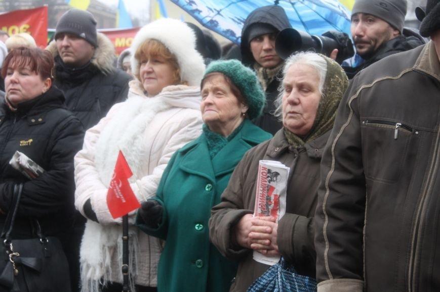 В Кривом Роге участники митинга за порядок потребовали закончить «беспредел» в городе (ФОТО), фото-2