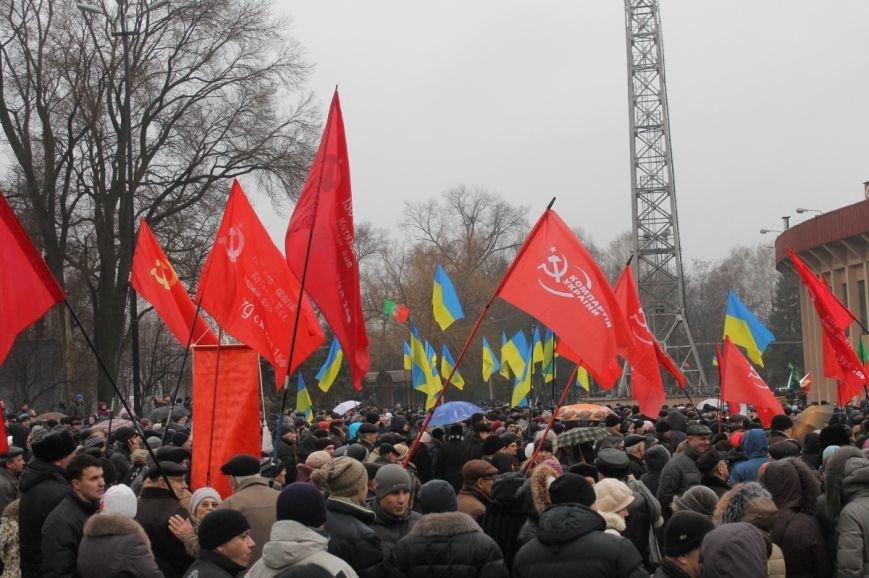 В Кривом Роге участники митинга за порядок потребовали закончить «беспредел» в городе (ФОТО), фото-11