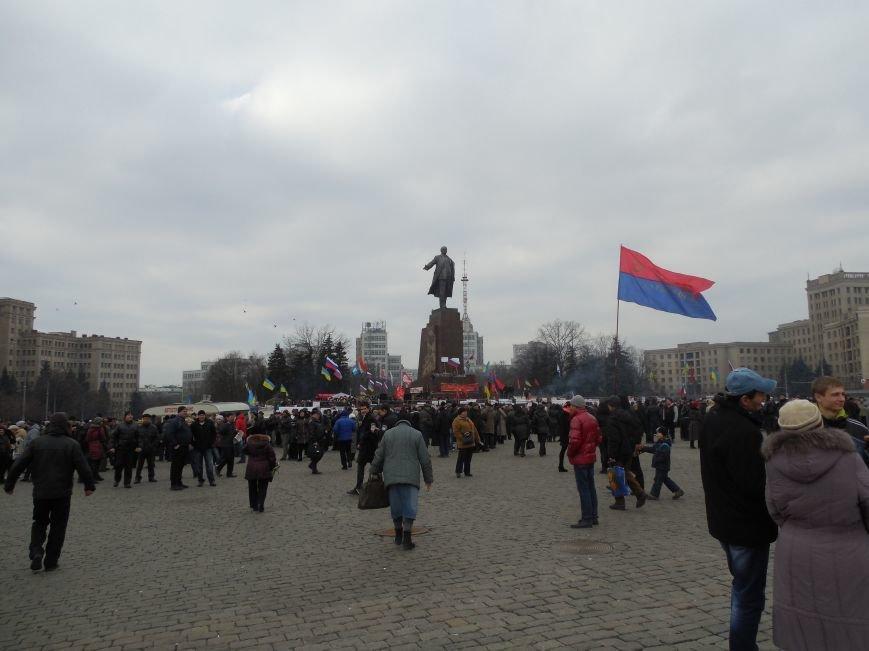 «Россия - SOS» или всего два украинских флага на многотысячную толпу: что происходит на площади Свободы (фото), фото-53