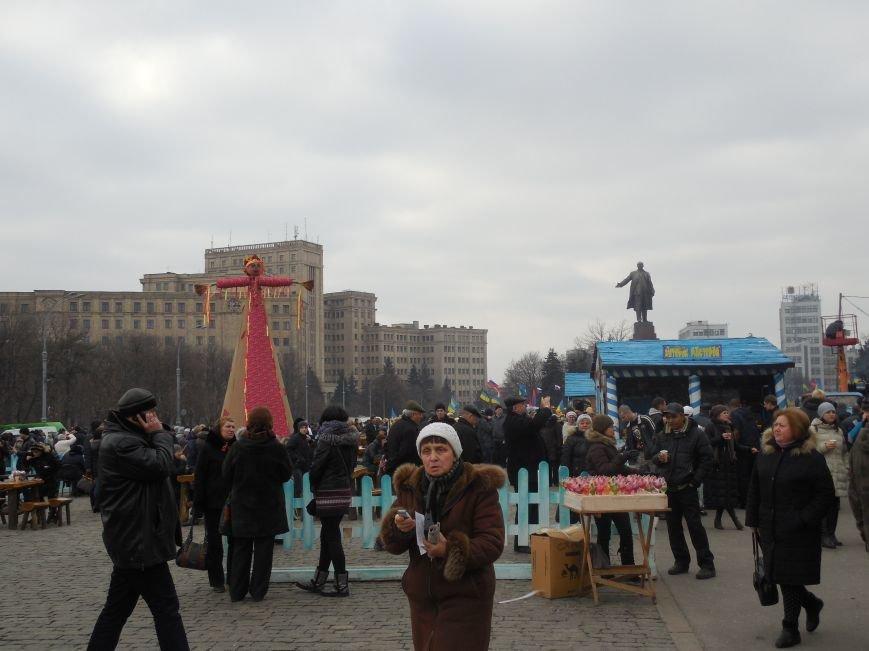 «Россия - SOS» или всего два украинских флага на многотысячную толпу: что происходит на площади Свободы (фото), фото-44