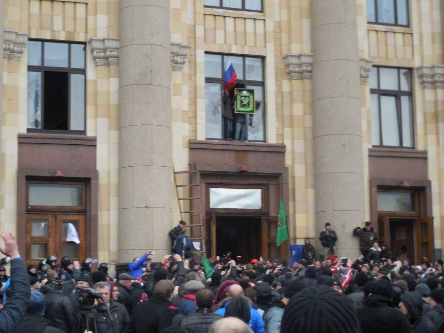 Захватчики ХОГА в крови. Толпа митингующих устроила самосуд над харьковскими евромайдановцами (ФОТО), фото-16