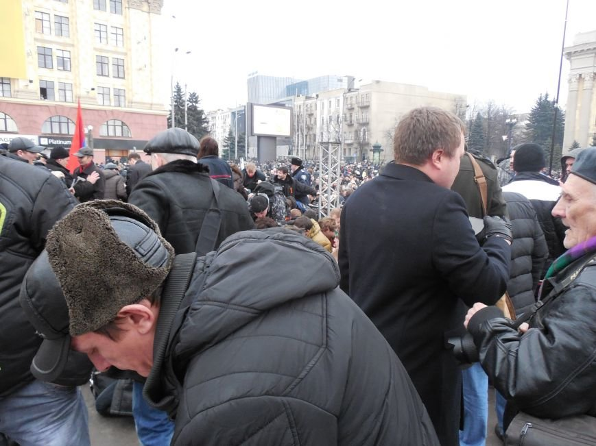 Захватчики ХОГА в крови. Толпа митингующих устроила самосуд над харьковскими евромайдановцами (ФОТО), фото-25