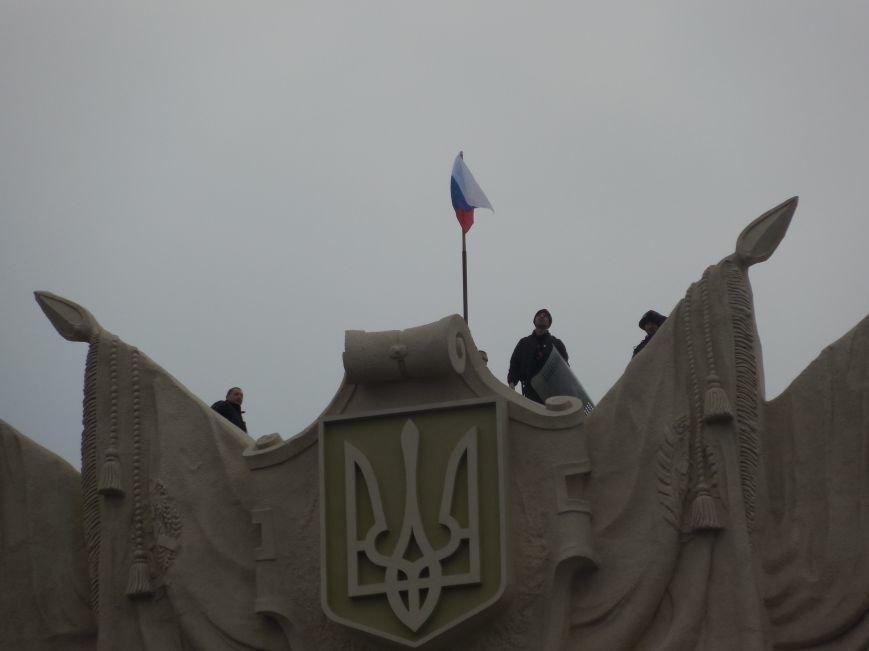 Захватчики ХОГА в крови. Толпа митингующих устроила самосуд над харьковскими евромайдановцами (ФОТО), фото-34