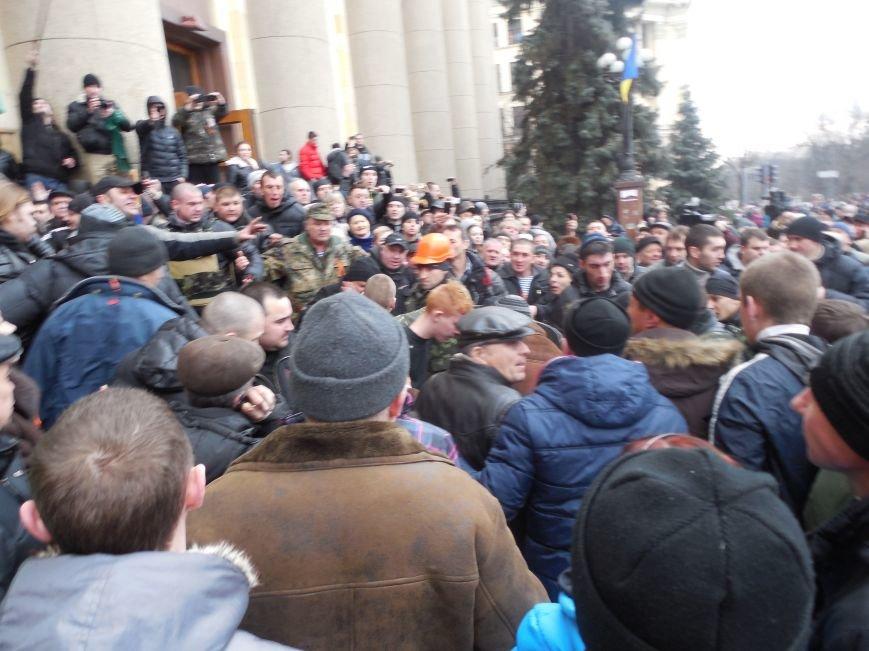 Захватчики ХОГА в крови. Толпа митингующих устроила самосуд над харьковскими евромайдановцами (ФОТО), фото-14