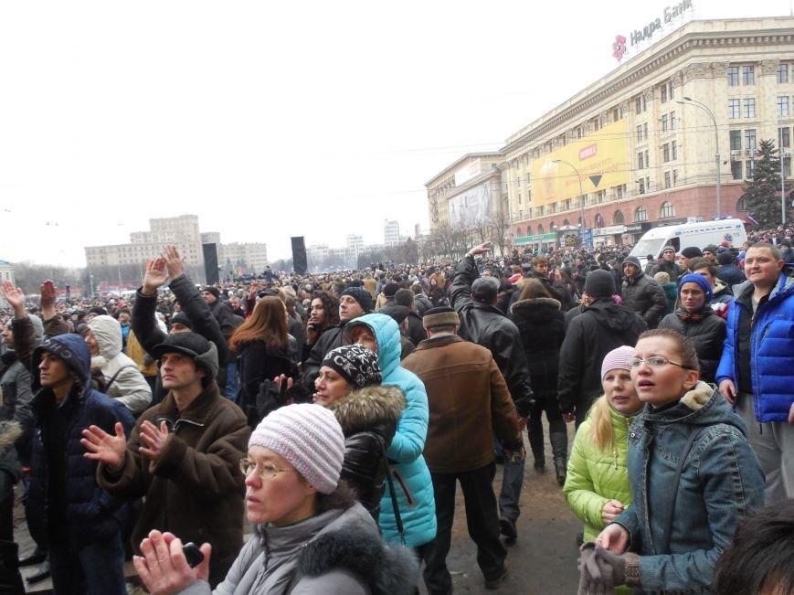 Захватчики ХОГА в крови. Толпа митингующих устроила самосуд над харьковскими евромайдановцами (ФОТО), фото-11