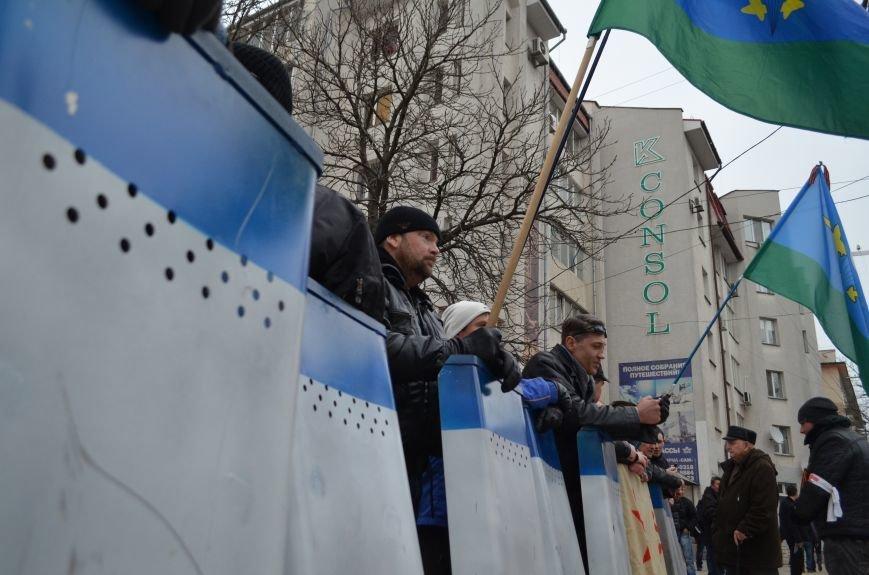 Вход в Крымский главк МВД заблокировали (ФОТО), фото-2