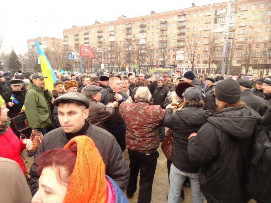 Митинг у памятника Ленину за неделимую Украину (Фото), фото-1