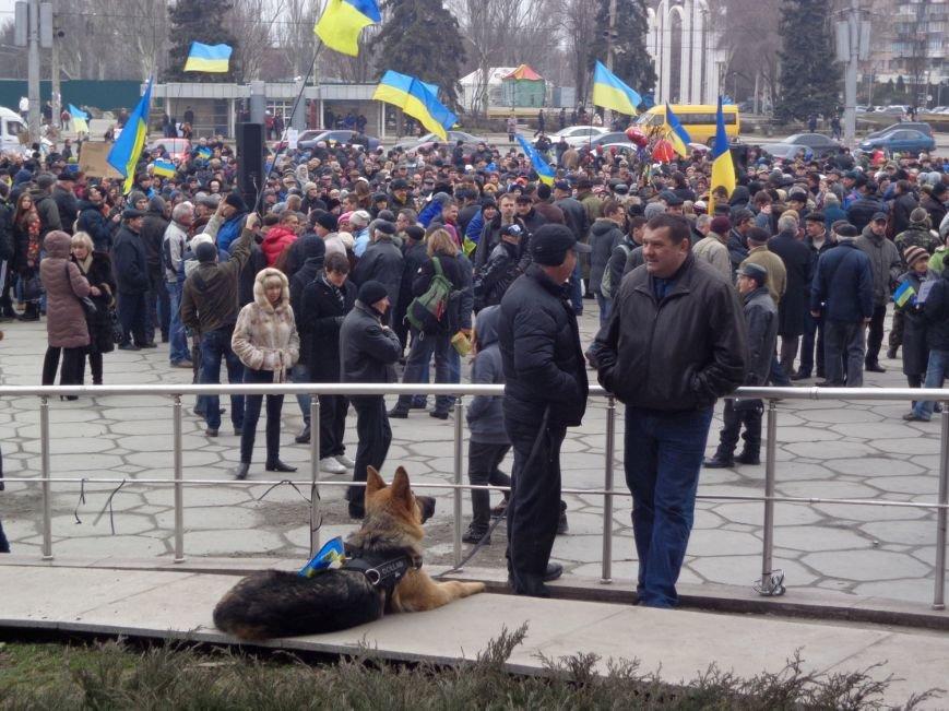 В Запорожье прошел митинг против вмешательства России (ФОТО, ОБНОВЛЕНО) (фото) - фото 4