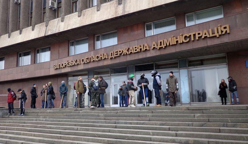 В Запорожье прошел митинг против вмешательства России (ФОТО, ОБНОВЛЕНО) (фото) - фото 1