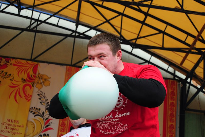 Масленица-2014: скоморохи, фаерщики и бой подушками, фото-9