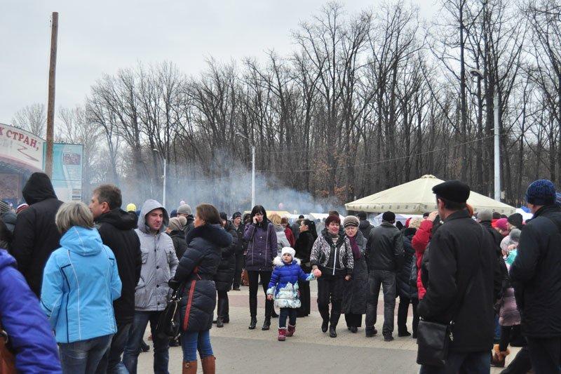 Масленица-2014: скоморохи, фаерщики и бой подушками, фото-4