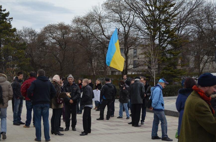В Симферополе женщины митингуют за мир и против Путина (ФОТО, ВИДЕО, обновлено), фото-1
