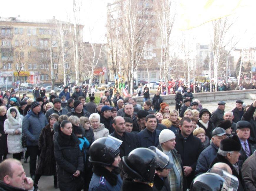 Нет войне! Под стенами  горсовета собрались сотни мариупольцев за единую Украину (ФОТО+Текст обращения+Дополнено), фото-14