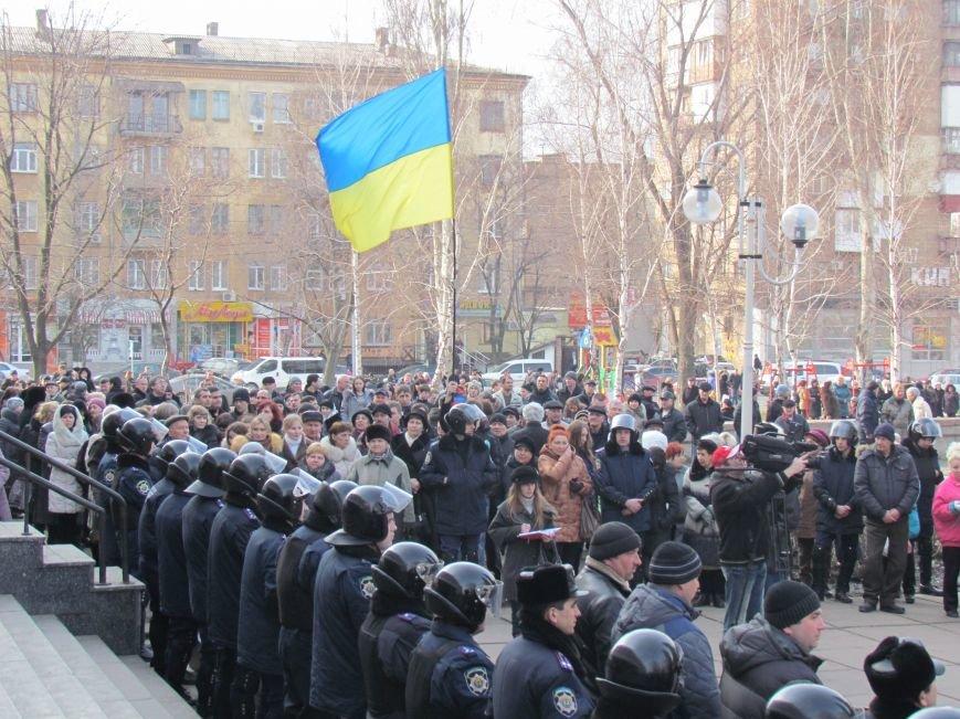Нет войне! Под стенами  горсовета собрались сотни мариупольцев за единую Украину (ФОТО+Текст обращения+Дополнено), фото-29