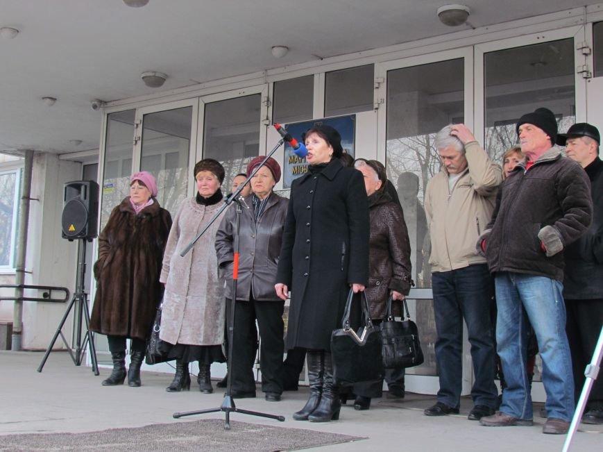 Нет войне! Под стенами  горсовета собрались сотни мариупольцев за единую Украину (ФОТО+Текст обращения+Дополнено), фото-21