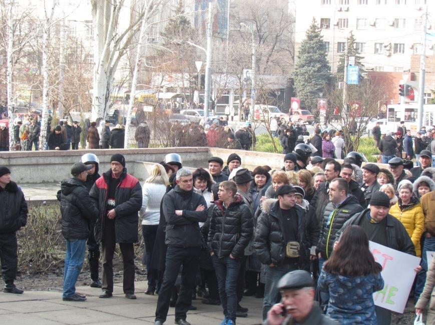 Нет войне! Под стенами  горсовета собрались сотни мариупольцев за единую Украину (ФОТО+Текст обращения+Дополнено), фото-8