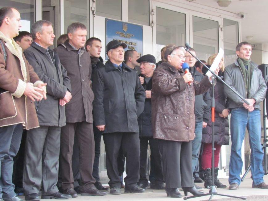 Нет войне! Под стенами  горсовета собрались сотни мариупольцев за единую Украину (ФОТО+Текст обращения+Дополнено), фото-43