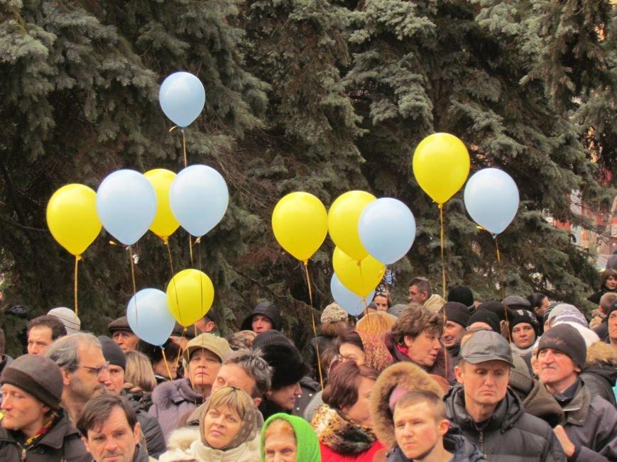 Нет войне! Под стенами  горсовета собрались сотни мариупольцев за единую Украину (ФОТО+Текст обращения+Дополнено), фото-44