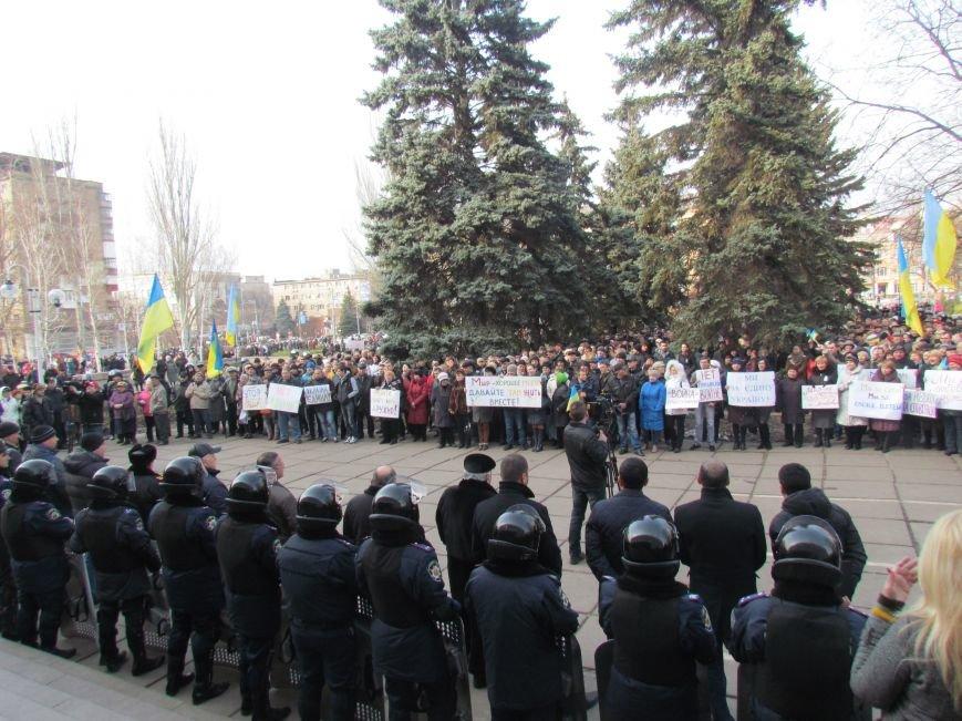 Нет войне! Под стенами  горсовета собрались сотни мариупольцев за единую Украину (ФОТО+Текст обращения+Дополнено), фото-25