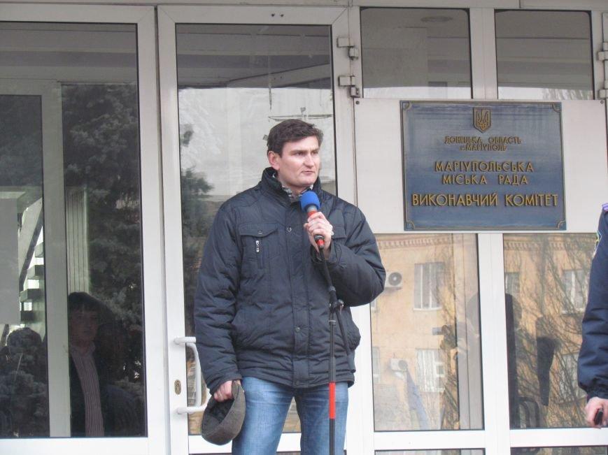 Нет войне! Под стенами  горсовета собрались сотни мариупольцев за единую Украину (ФОТО+Текст обращения+Дополнено), фото-12