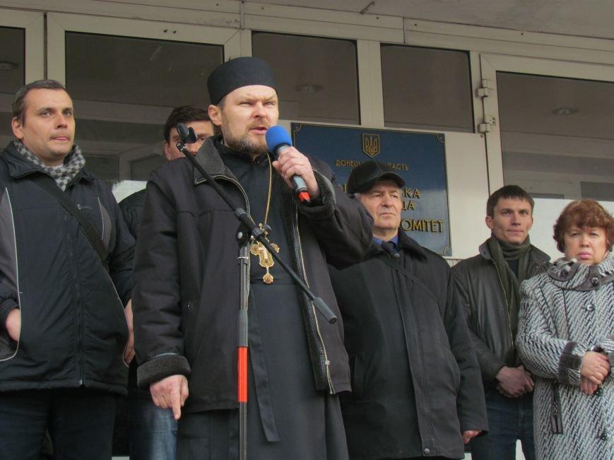 Нет войне! Под стенами  горсовета собрались сотни мариупольцев за единую Украину (ФОТО+Текст обращения+Дополнено), фото-31