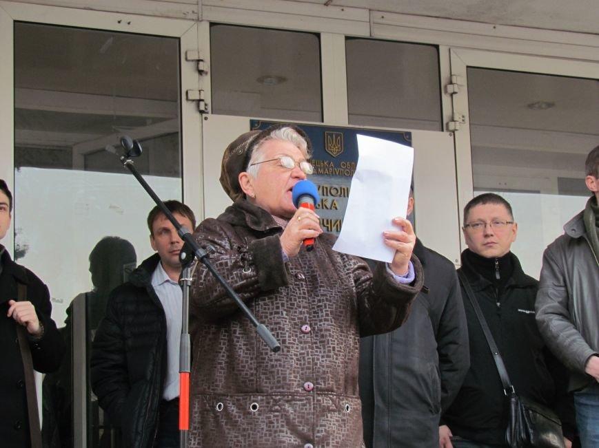 Нет войне! Под стенами  горсовета собрались сотни мариупольцев за единую Украину (ФОТО+Текст обращения+Дополнено), фото-35