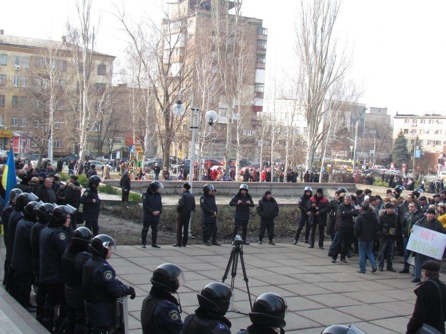 Нет войне! Под стенами  горсовета собрались сотни мариупольцев за единую Украину (ФОТО+Текст обращения+Дополнено), фото-9