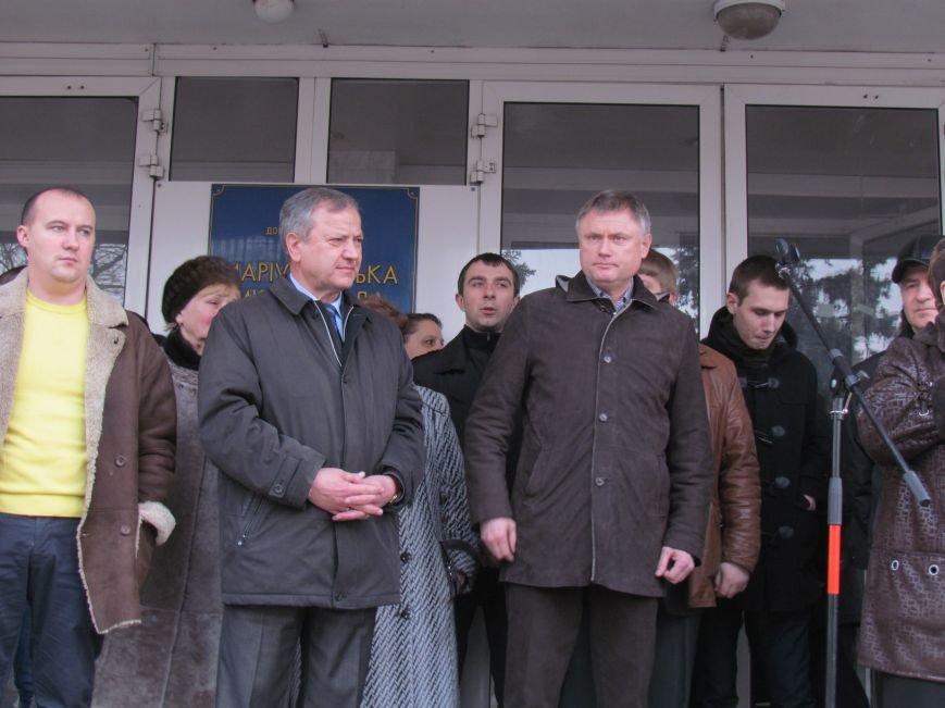 Нет войне! Под стенами  горсовета собрались сотни мариупольцев за единую Украину (ФОТО+Текст обращения+Дополнено), фото-36