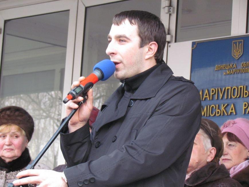 Нет войне! Под стенами  горсовета собрались сотни мариупольцев за единую Украину (ФОТО+Текст обращения+Дополнено), фото-13
