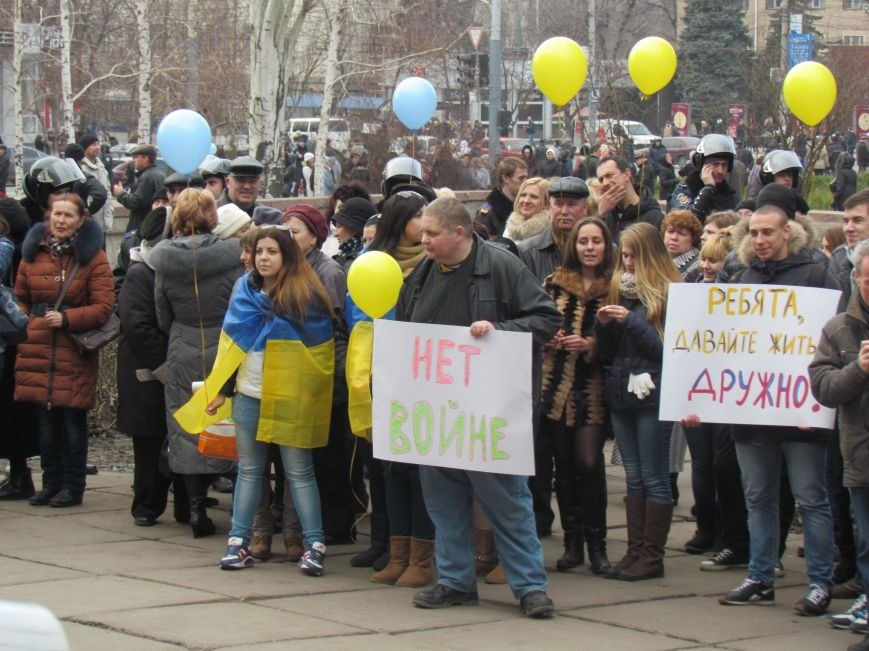Нет войне! Под стенами  горсовета собрались сотни мариупольцев за единую Украину (ФОТО+Текст обращения+Дополнено), фото-46