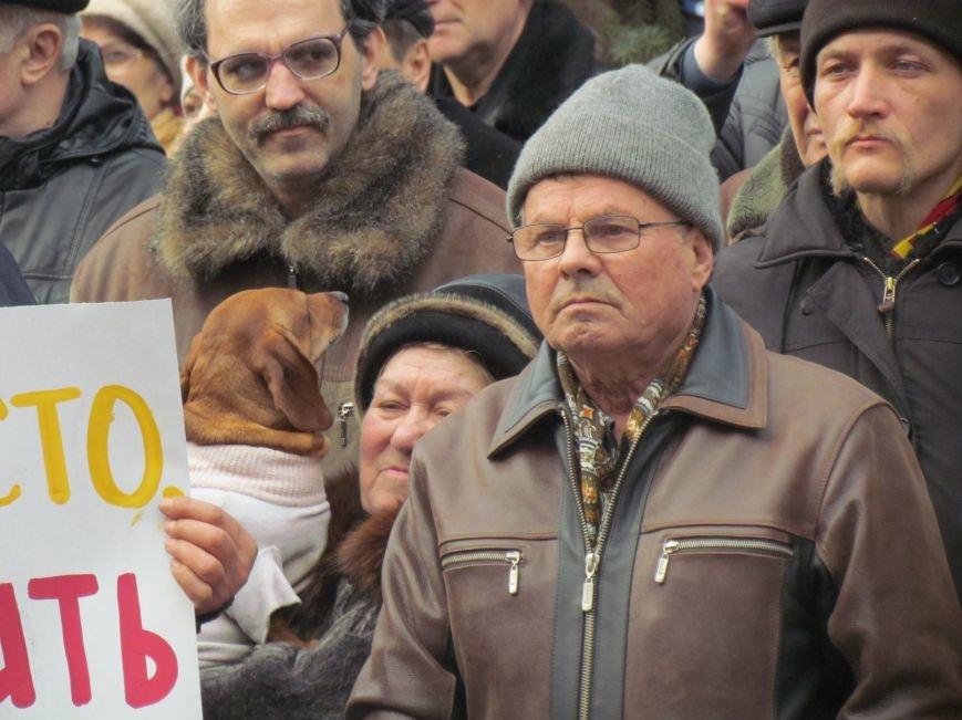 Нет войне! Под стенами  горсовета собрались сотни мариупольцев за единую Украину (ФОТО+Текст обращения+Дополнено), фото-39