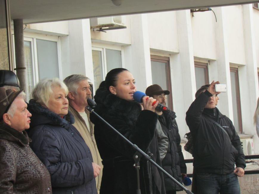 Нет войне! Под стенами  горсовета собрались сотни мариупольцев за единую Украину (ФОТО+Текст обращения+Дополнено), фото-28