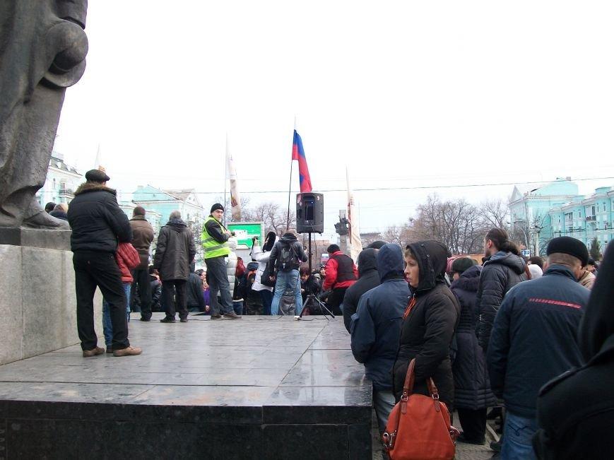 «Ни шагу назад»  - в Луганске митинговали за Россию (ФОТО), фото-5