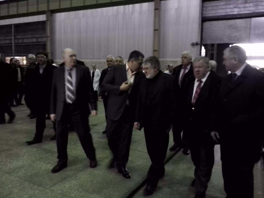 Губернатор Днепропетровщины Игорь Коломойский посетил «Южмаш» (ФОТОРЕПОРТАЖ), фото-9