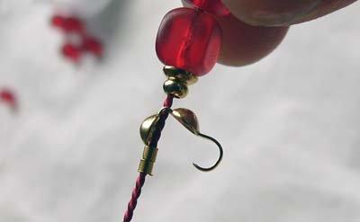 Фурнитура для браслетов, пример концевика (калотт)