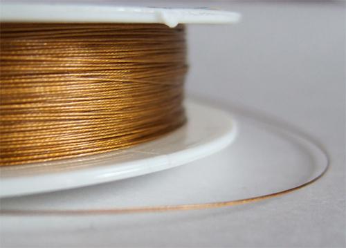 Фурнитура для браслетов, пример ювелирного тросика