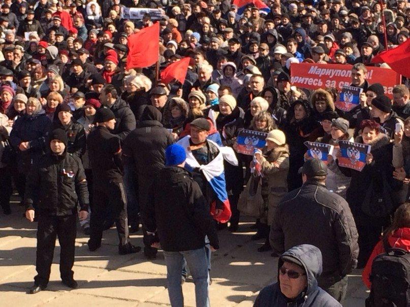 В Мариуполе  многотысячный митинг заявил о проведении  референдума (ФОТО), фото-7