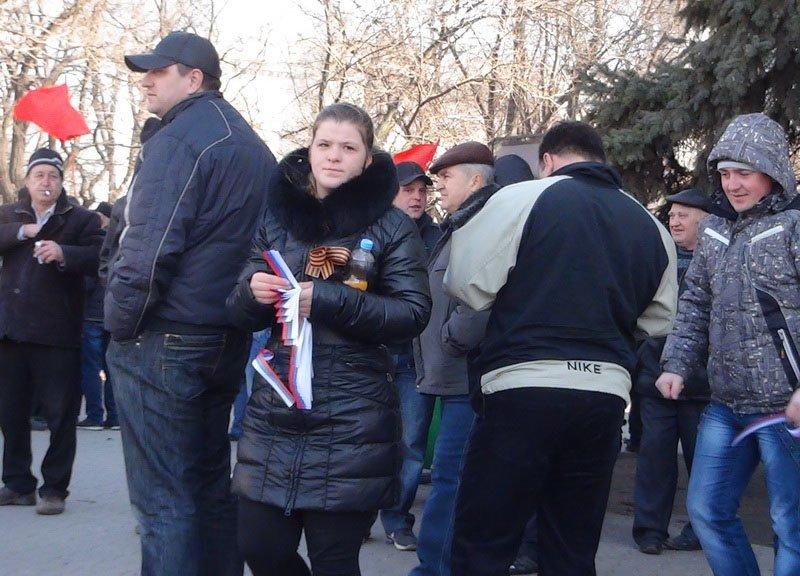 Антифашистский митинг в Мариуполе 8 марта (фото), фото-32