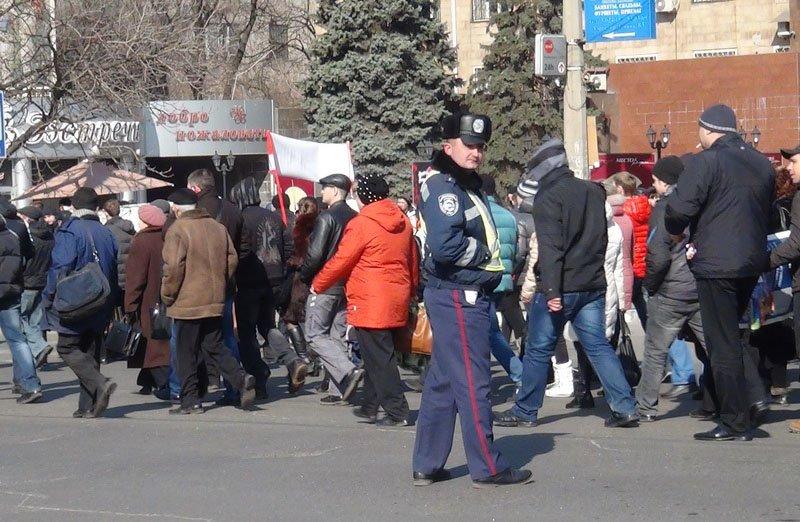 Антифашистский митинг в Мариуполе 8 марта (фото), фото-36