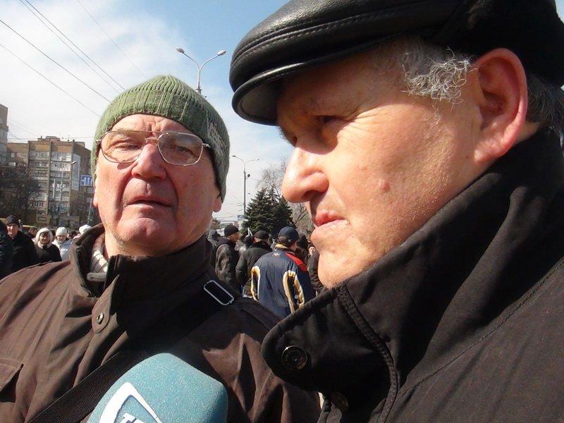 Антифашистский митинг в Мариуполе 8 марта (фото), фото-45