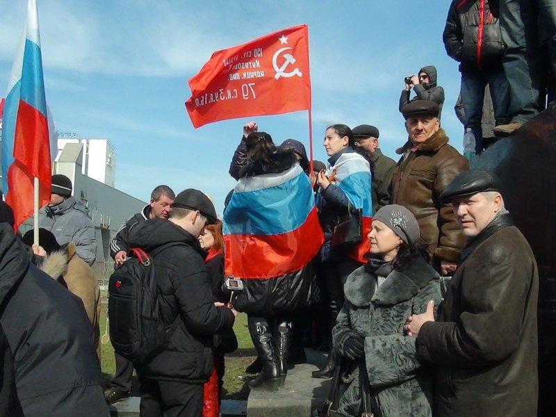 Антифашистский митинг в Мариуполе 8 марта (фото), фото-49