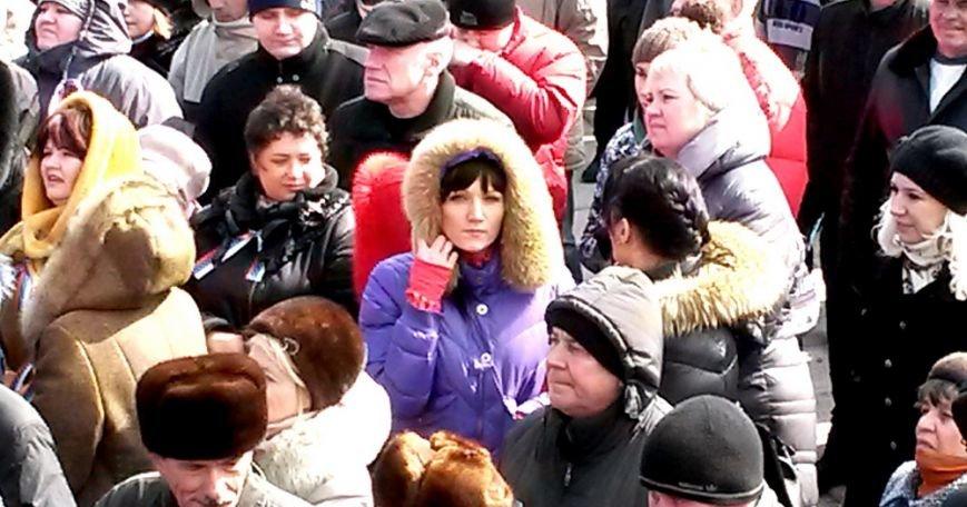 Антифашистский митинг в Мариуполе 8 марта (фото), фото-31