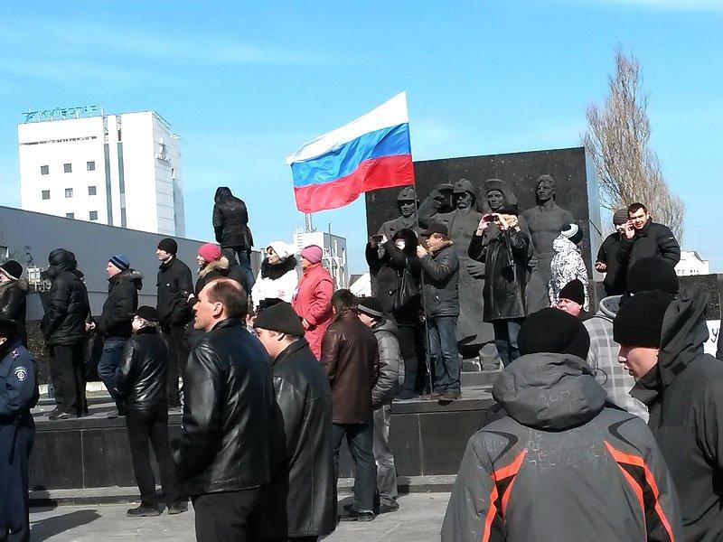 Антифашистский митинг в Мариуполе 8 марта (фото), фото-17