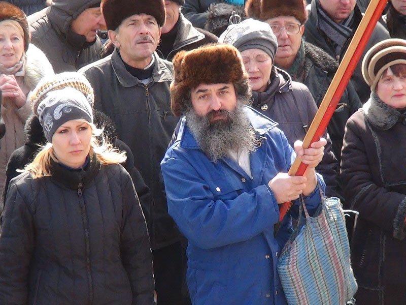 Антифашистский митинг в Мариуполе 8 марта (фото), фото-53