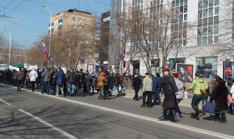 Антифашистский митинг в Мариуполе 8 марта (фото), фото-34