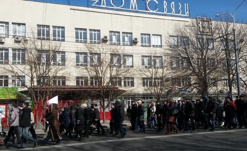 Антифашистский митинг в Мариуполе 8 марта (фото), фото-12