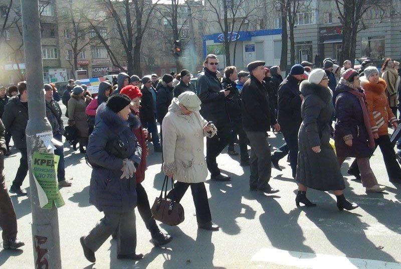 Антифашистский митинг в Мариуполе 8 марта (фото), фото-40