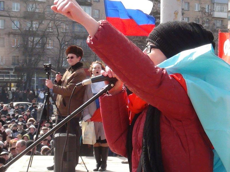Антифашистский митинг в Мариуполе 8 марта (фото), фото-54