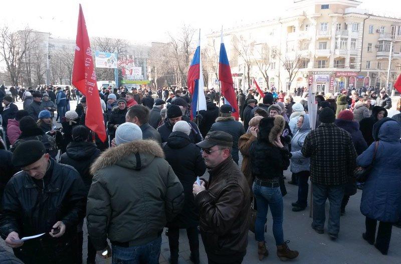Антифашистский митинг в Мариуполе 8 марта (фото), фото-8